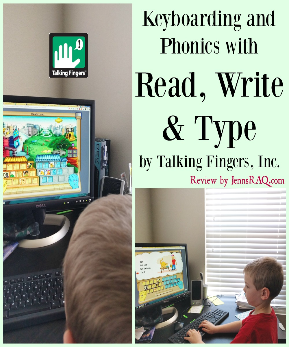 Keyboarding and Phonics with Read, Write & Type by Talking Fingers, Inc.