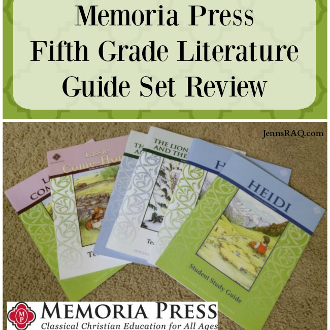 memoria press literature guide reviews Memoria press is a family-run publishing company that produces simple and easy to use classical christian education materials for home and private schools.