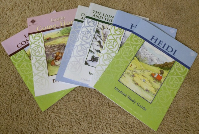 Memoria Press Fifth Grade Literature Guide Set - Review of Classical Literature study guides as seen on jennsRAQ.com