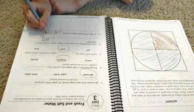 Online Homeschool Science with Science Shepherd - Elementary Science Review - Worksheet