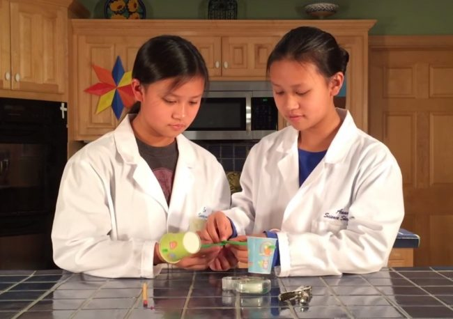Science Shepherd Introductory Science - Video of an Experiment