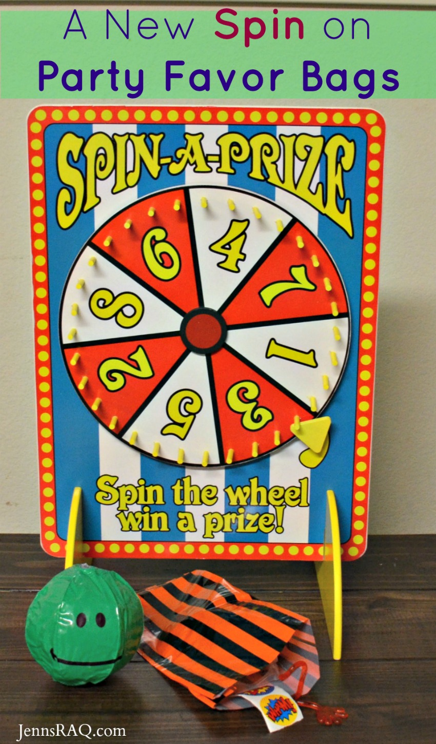 A New Spin on Birthday Favor Bags as seen on JennsRAQ.com