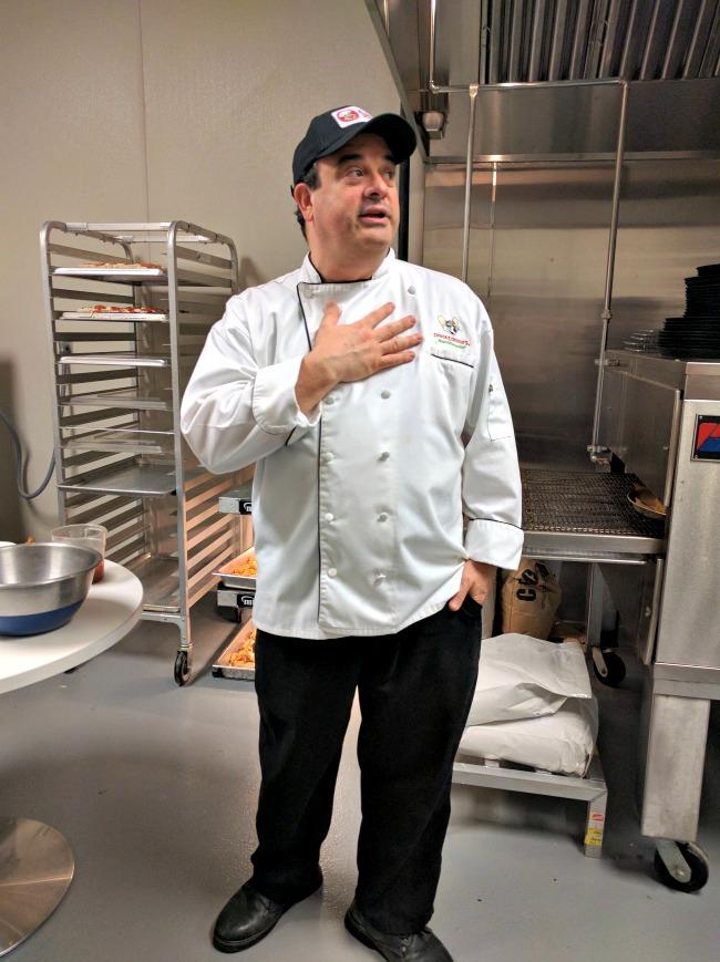 Chuck E Cheeses Chef Gregory Casale