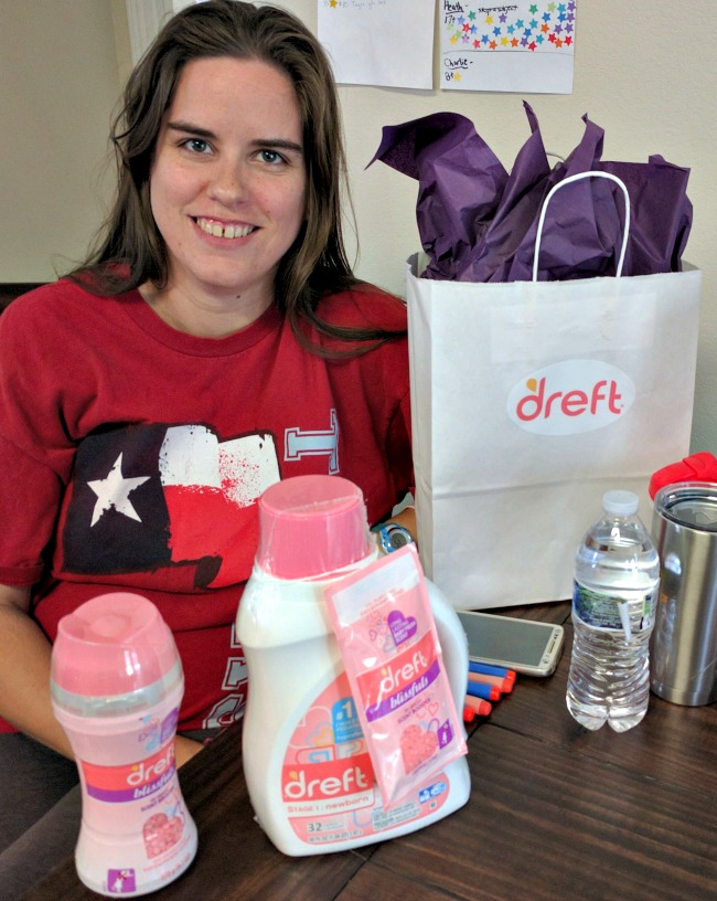 Jenny is expecting her third child and will really be able to use all of these awesome Dreft laundry products
