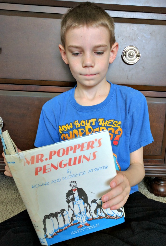 Mr. Poppers Penguins Study Guide from Progeny Press - Teaching language arts lessons and critical thinking skills through literature study