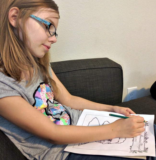 NotebookingPages.com Lifetime Membership has coloring pages for students