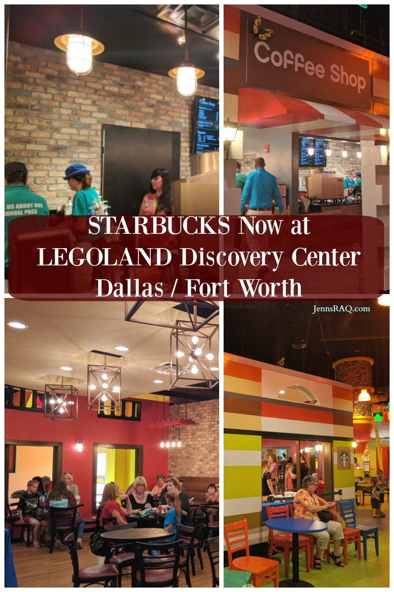 STARBUCKS Now at LEGOLAND Discovery Center Dallas Fort Worth