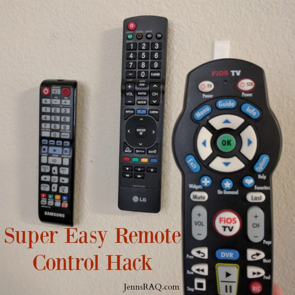 Super Easy Remote Control Hack
