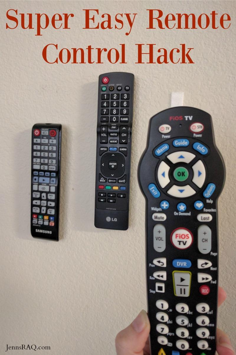 Super Easy Remote Control Hack
