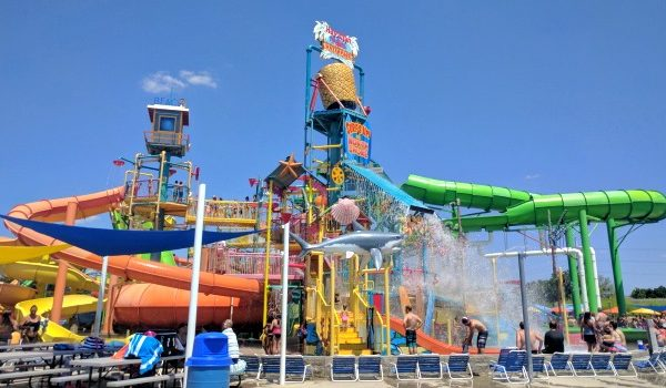 Hawaiian Falls for Family Fun