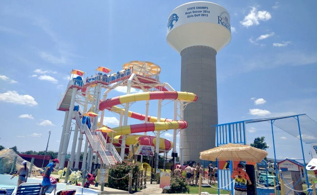 Hawaiian Falls Roanoke for Family Fun - Many Large Slides