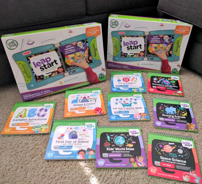 LeapFrog LeapStart is a new learning platform for kids from preschool to 1st grade