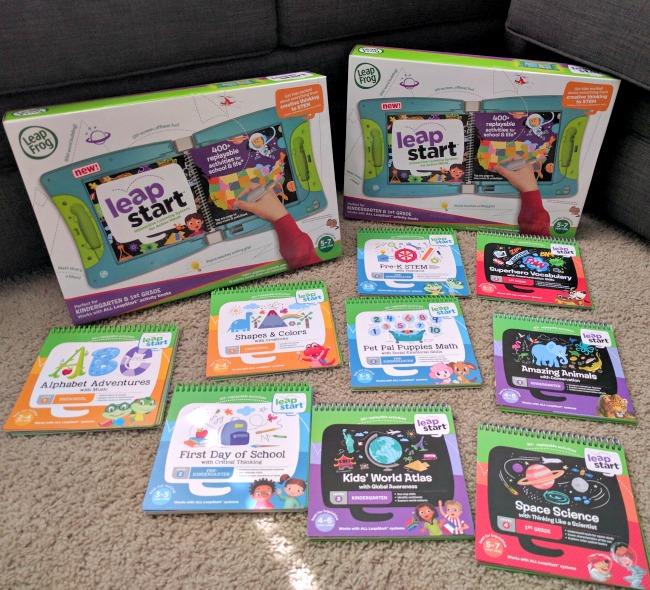 LeapFrog LeapStart is a new learning platform for kids from preschool to 1st grade