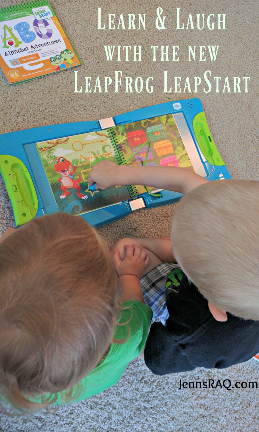 Learn and Laugh with the new LeapFrog LeapStart System