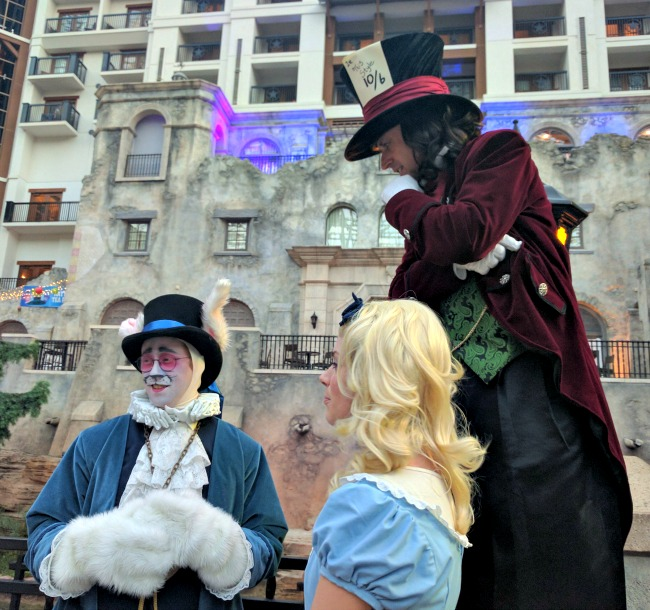 Meet your favorite Wonderland characters at Gaylord Texan this summer as part of SUMMERFEST