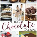 No Bake Chocolate Desserts
