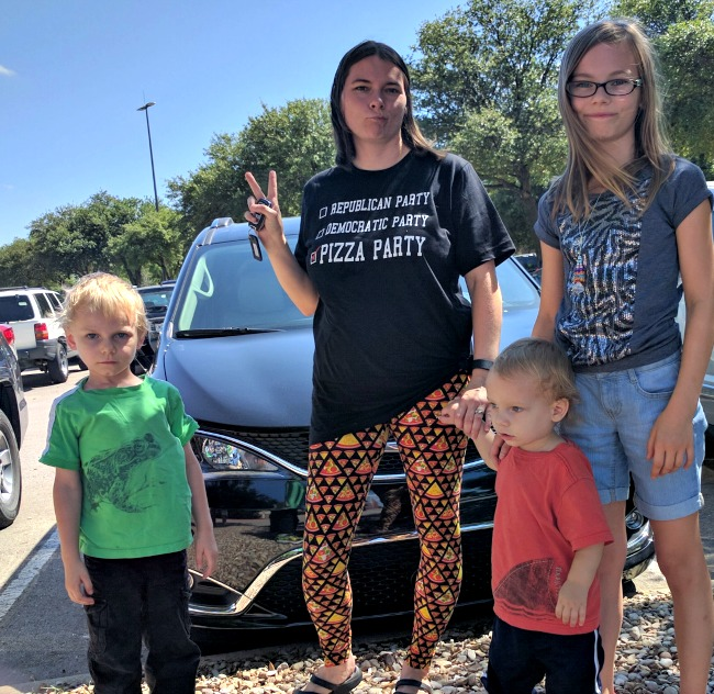 The 2017 Chrysler Pacifica provides a comfortable ride for my whole family