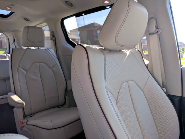 The comfort is unbeatable in the 2017 Chrysler Pacifica