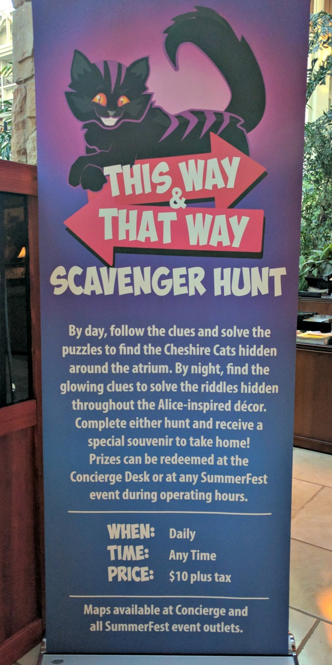 This Way and That Way Scavenger Hunt at Gaylord Texan for SUMMERFEST