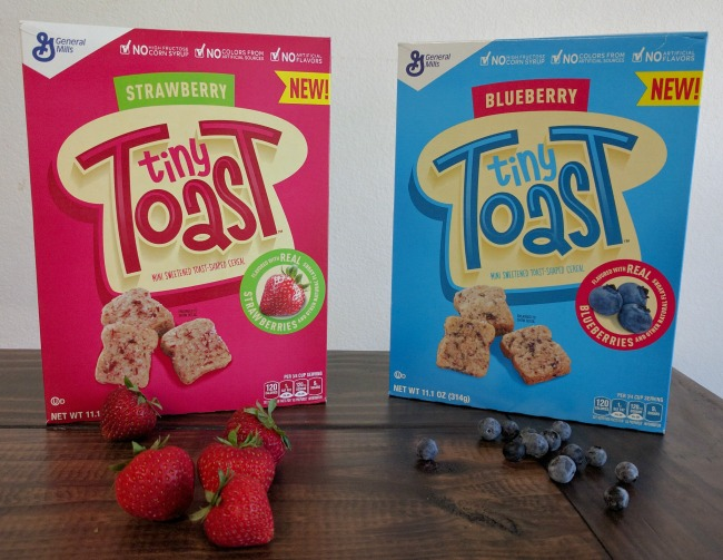 Tiny Toast is a new cereal by General Mills and is available now at Kroger stores