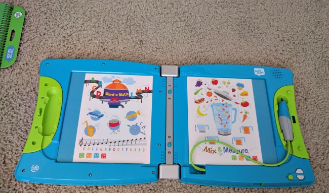 We love the brand new LeapFrog LeapStart - There are so many activity books to use with it