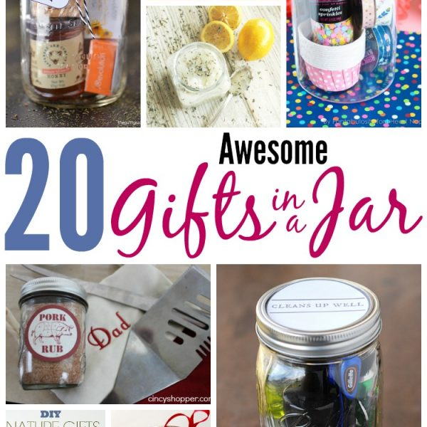 20 Awesome Gifts in a Jar