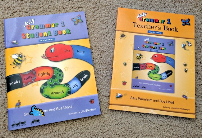 Jolly Grammar 1 Student Book and Teachers Book