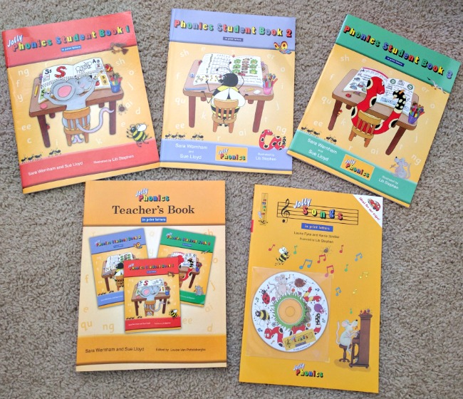 Jolly Phonics with Teachers Book and Jolly Songs from jollyphonics.com
