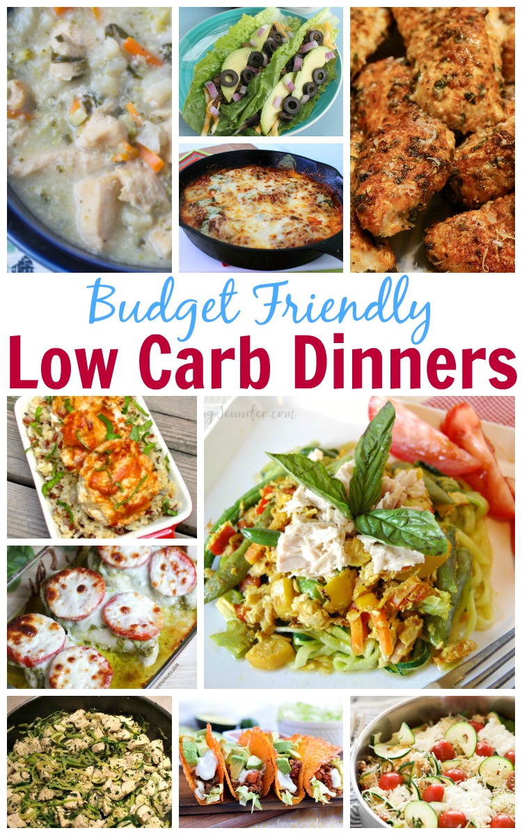 Budget Friendly Low Carb Dinners as seen on JennsRAQ.com