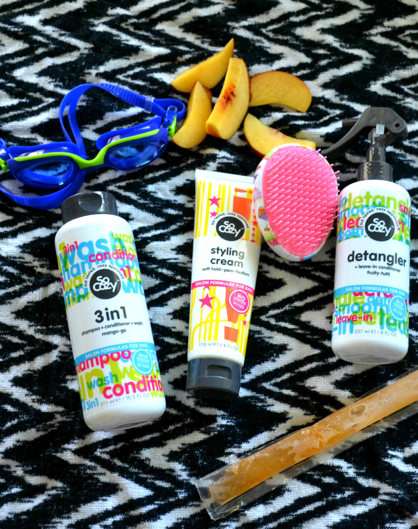 SoCozy salon products for kids