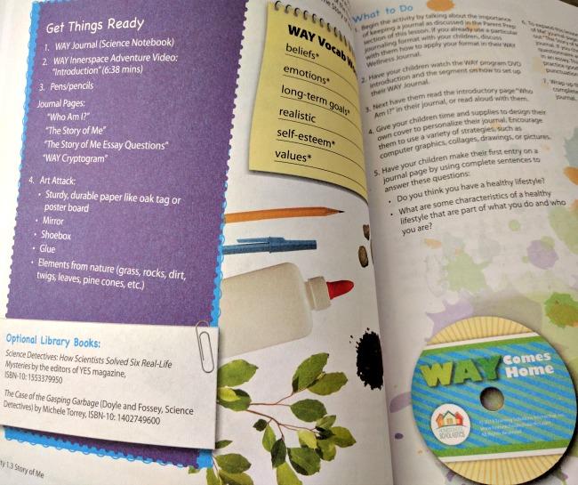 WAY Comes Home Health and Wellness PE Homeschool Curriculum