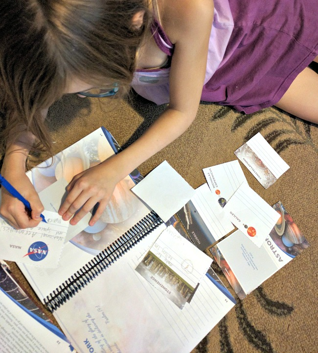 Apologia's Exploring Creation with Astronomy, 2nd Edition Review - Notebooking Journal