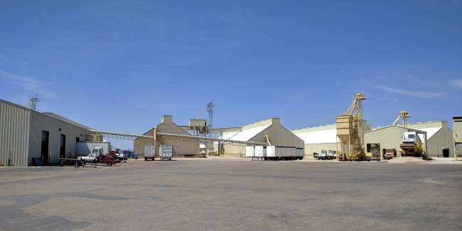 Birdsong Peanuts Processing Facility in Brownfield Texas