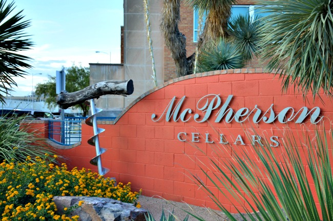 McPherson Cellars in Lubbock Texas