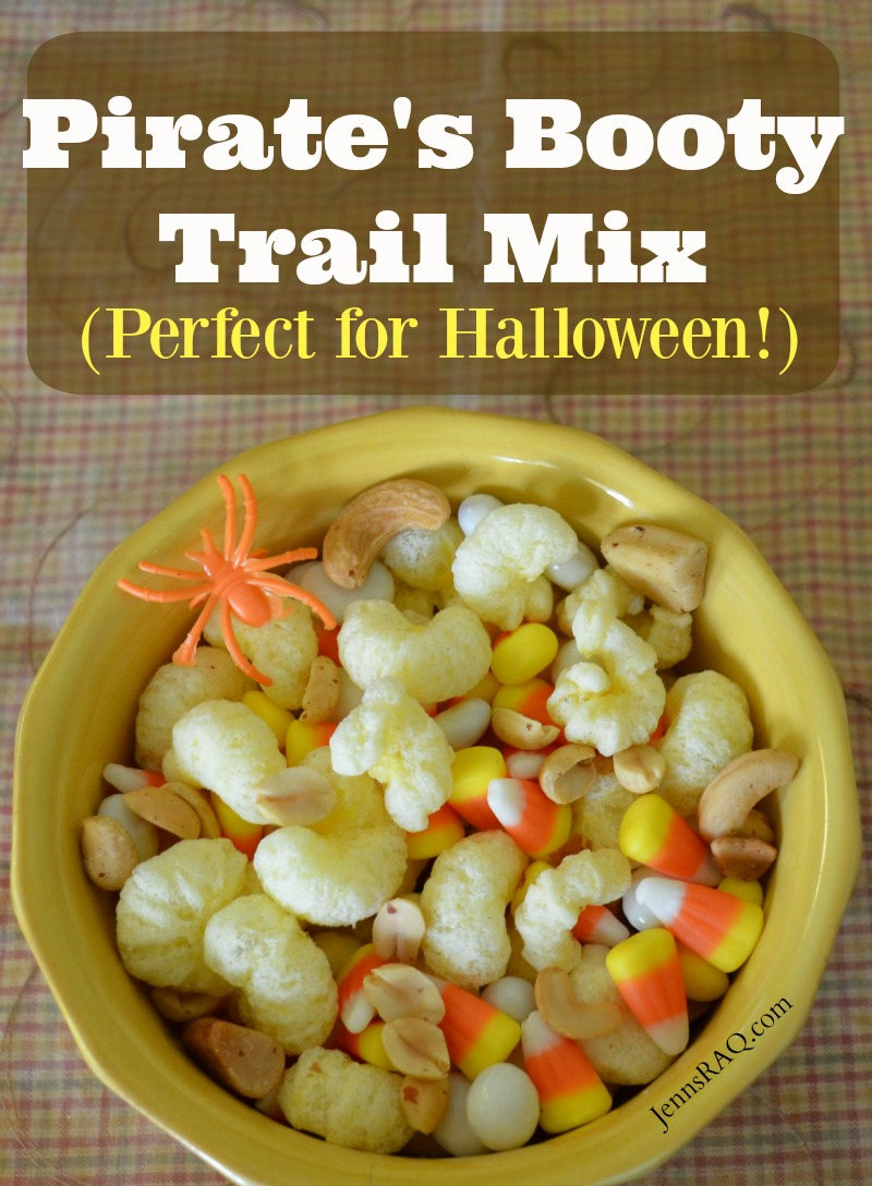 Pirate's Booty Trail Mix - Perfect for Halloween