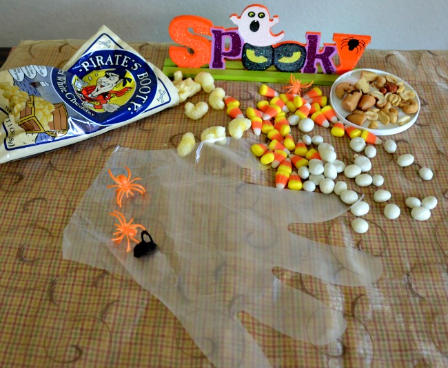 Pirate's Booty Trail Mix for Halloween or anytime