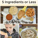 Snacks for Kids with 5 Ingredients or Less