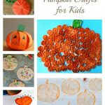 25 Easy Pumpkin Crafts for Kids