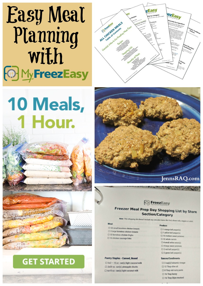 Easy Meal Planning with MyFREEZEasy as seen on JennsRAQ.com