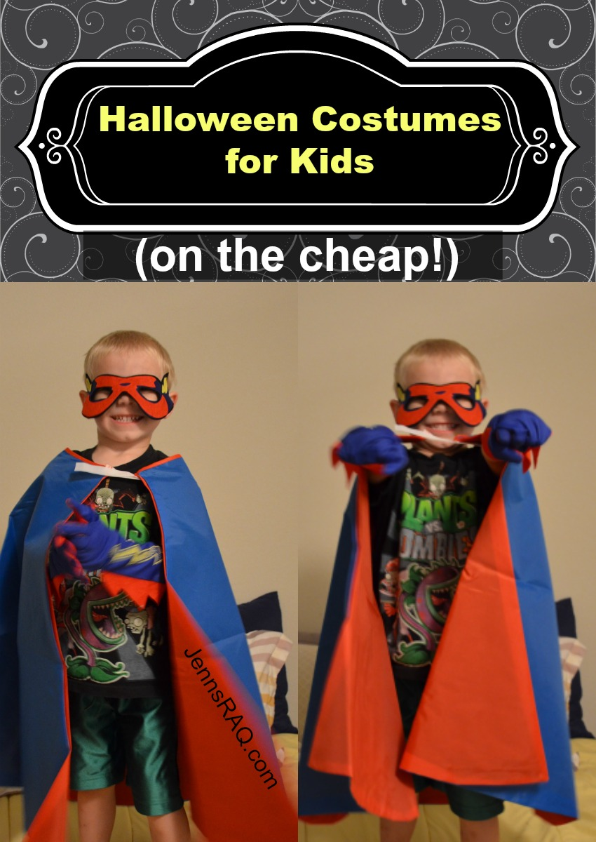 Halloween Costumes for Kids on the Cheap as seen on JennsRAQ.com