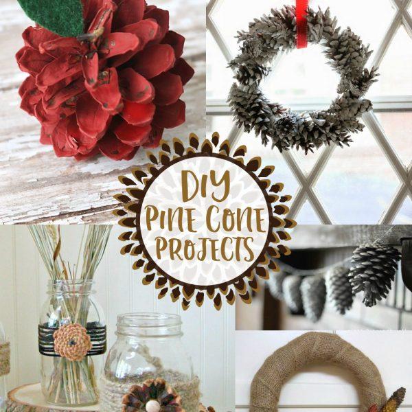 Elegant DIY Pine Cone Projects