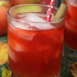 Spiced Red Apple Cider Punch