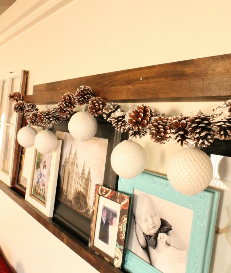 Simple DIY Pine Cone Garland | A Mom's Take