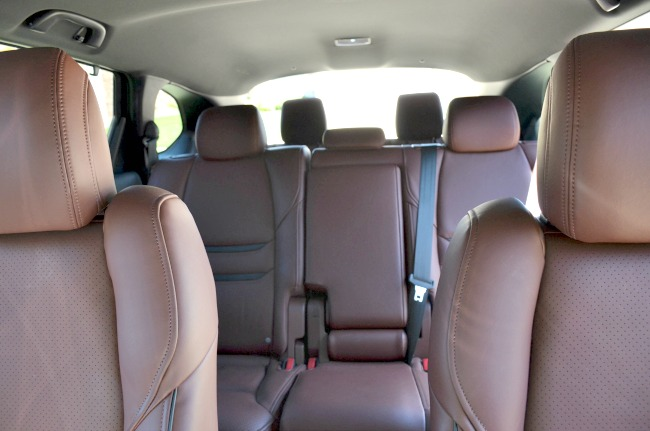 Exploring Hill Country in the 2016 Mazda CX-9 with seating for 7 with third row