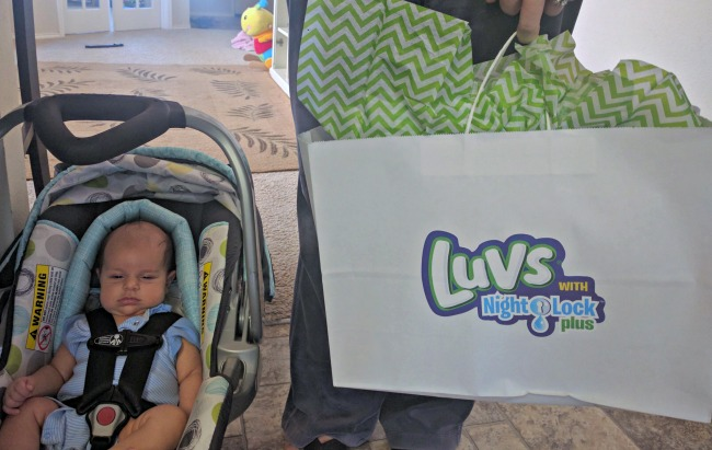 Luvs #WhatULuv Party Baby Attendee was as cute as can be