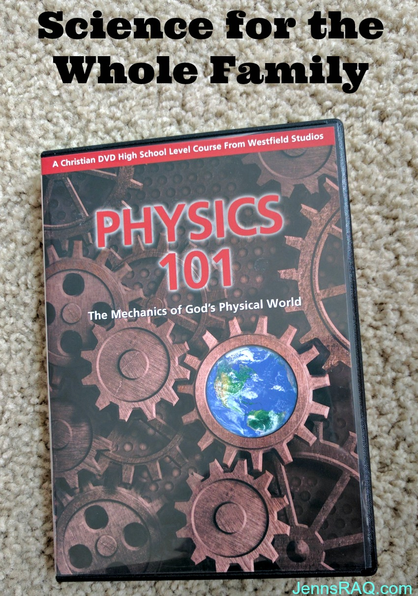 Physics 101 High School DVD Course from Westfield Studios