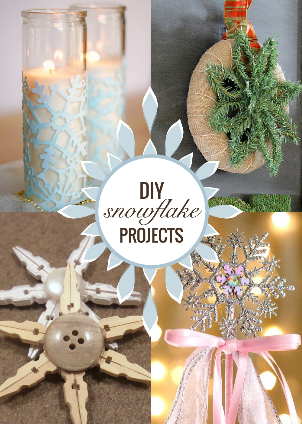 DIY snowflake projects as seen on jennsRAQ.com