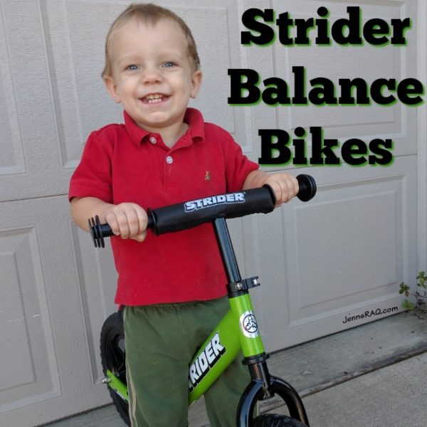 Strider Balance Bikes Make Great Gifts (GIVEAWAY!!)