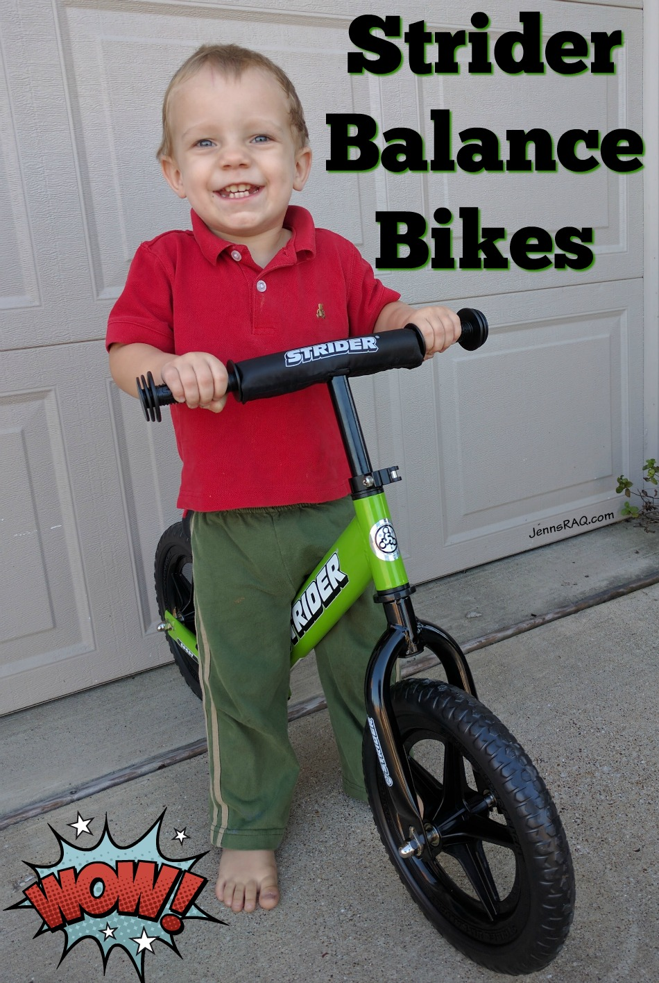 Strider Balance Bikes Make Great Gifts - As seen on JennsRAQ.com