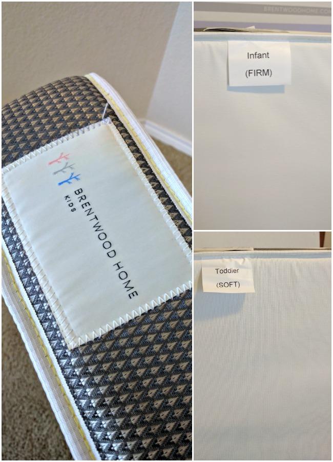 Brentwood Home Poppy 2-Stage Crib Mattress